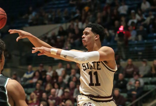 Mississippi State's Quinndary Weatherspoon hit the game-winning layup against Florida. He says the key to success is having his teammates stick together win or lose. Photo by Keith Warren