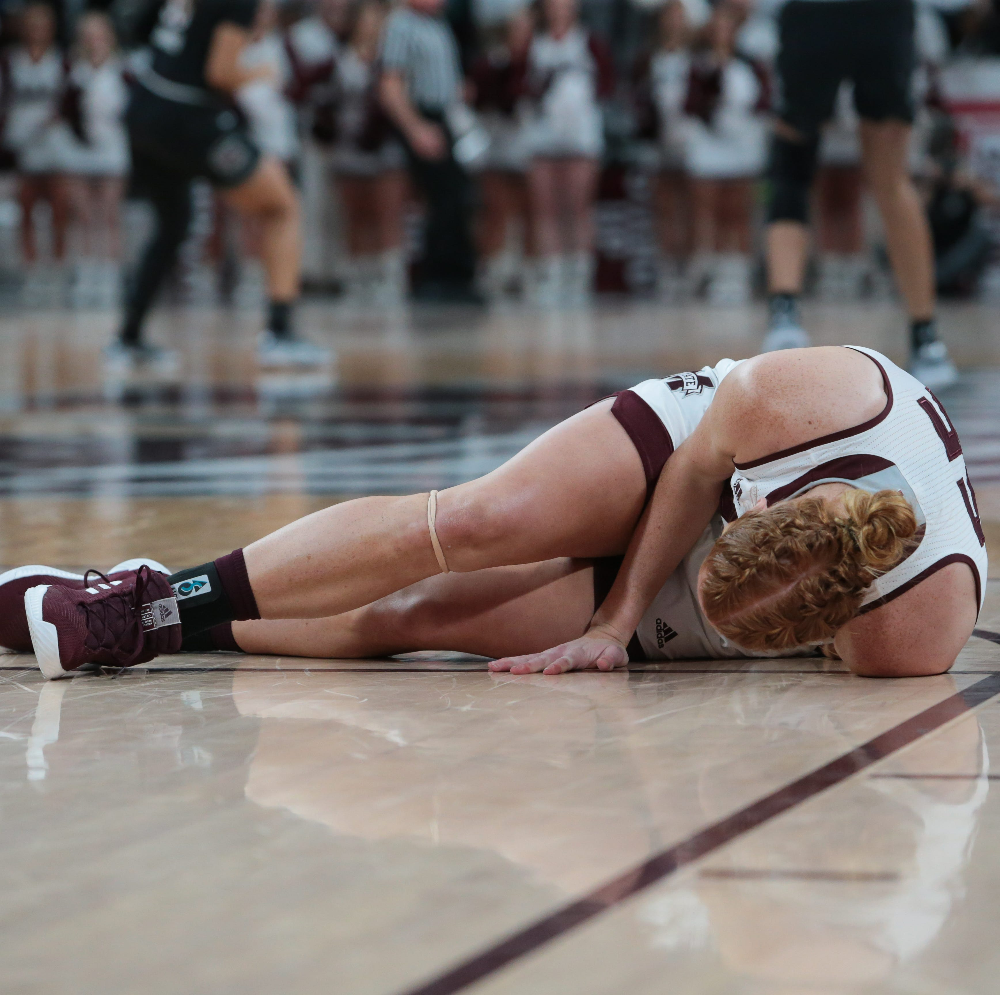 Chloe Bibby OUT for remainder of Mississippi State's season with knee injury
