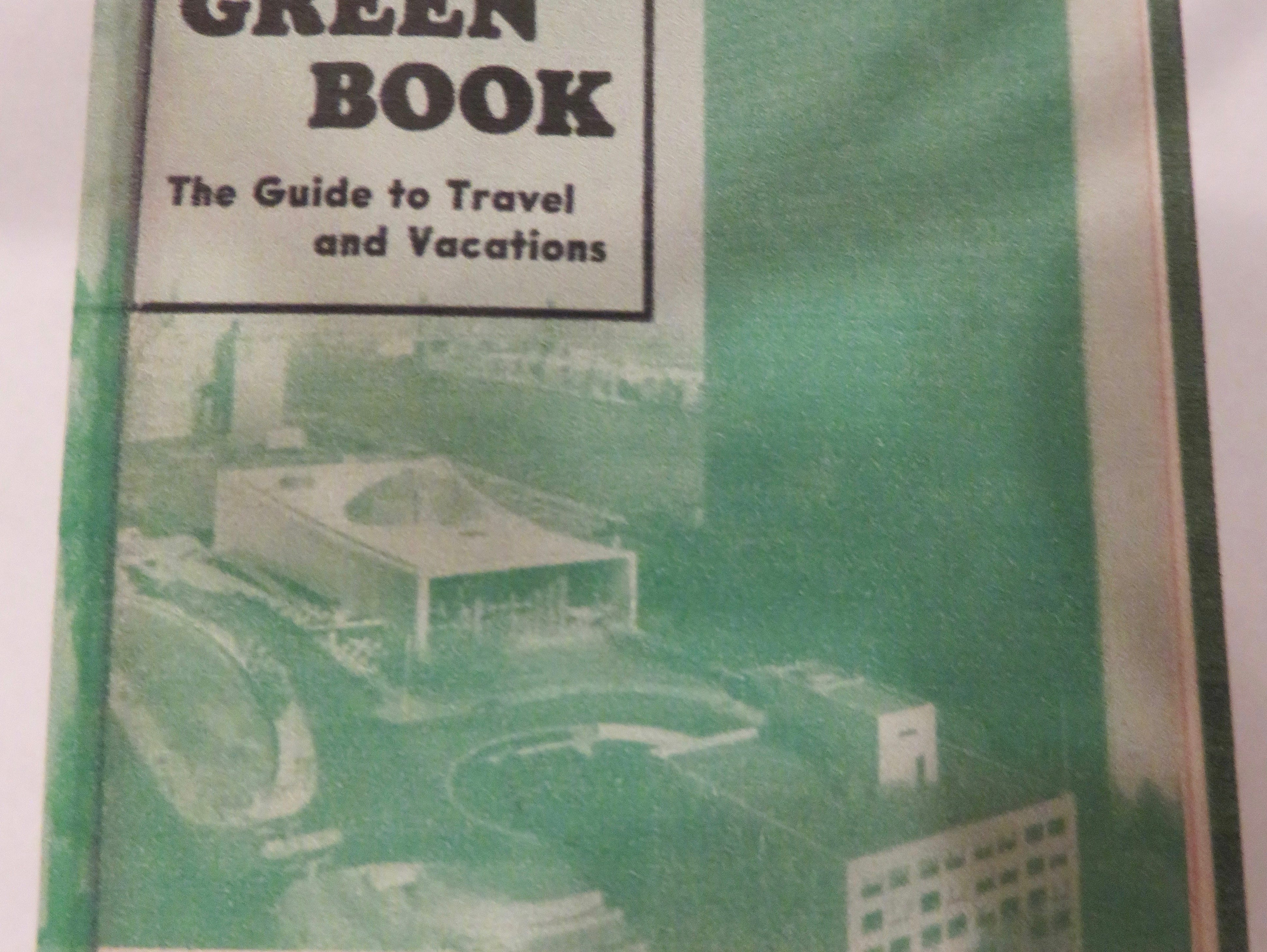 "The 1955 ""Green Book"" cover for black traveling motorists."