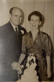 Charlene Asbury married Joseph Asbury in 1953.