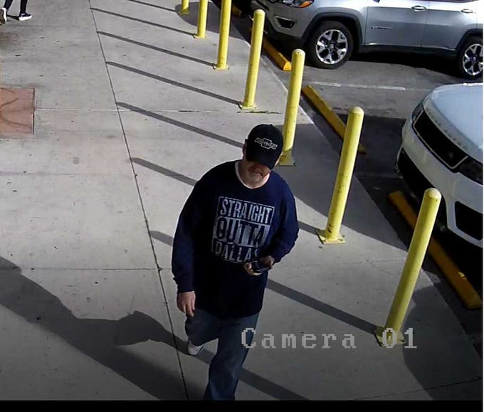 """The FBI is searching for serial bank robber dubbed the """"Traveling Bandit"""" following a series of robberies at banks across six states ranging from Florida to Utah."""