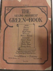 """The cover of the 1941 """"Green Book,"""" which listed Knoxville businesses and others around the country where black travelers were welcome during the days of segregation."""