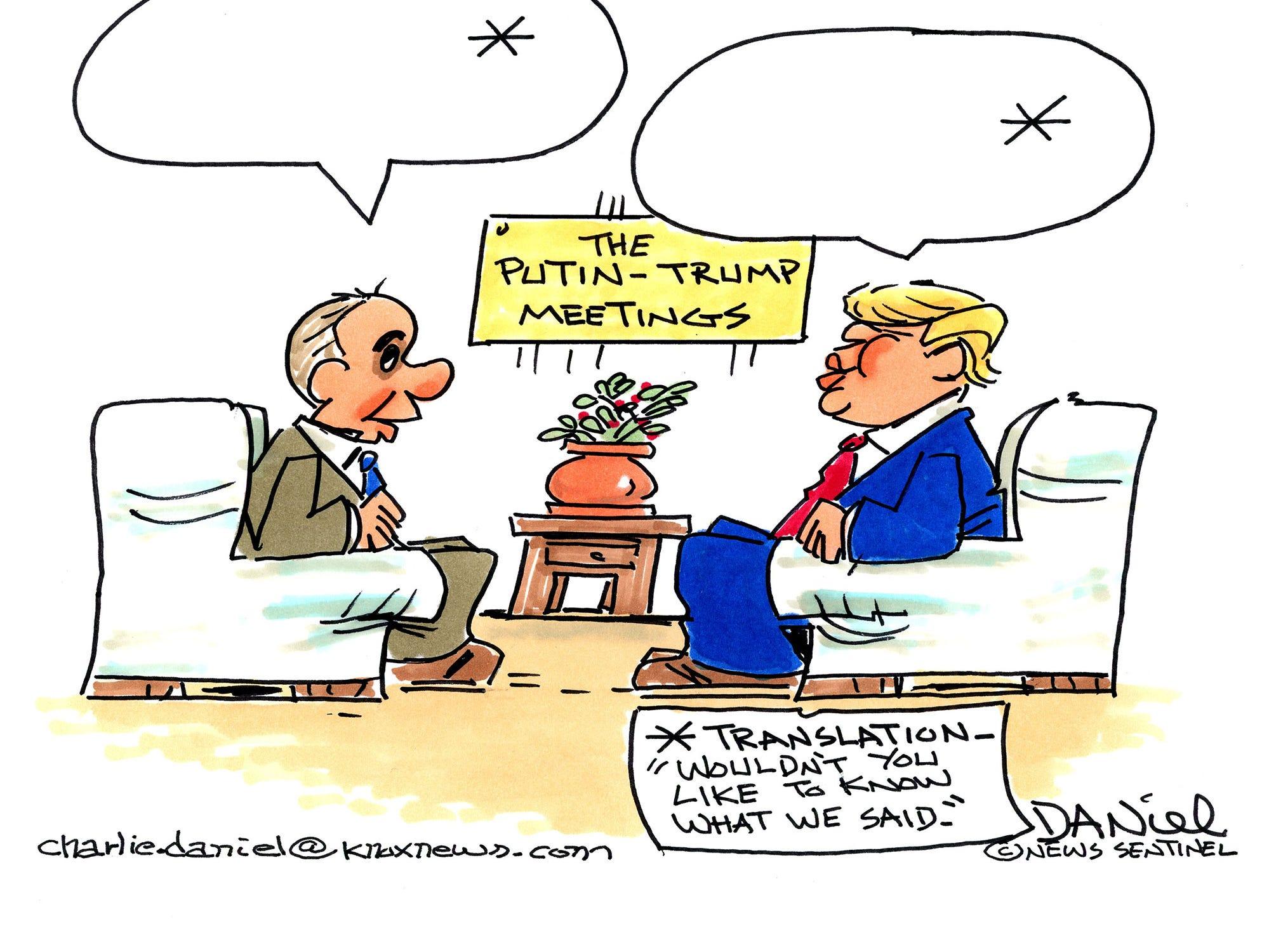 Charlie Daniel cartoon for Jan. 22, 2019