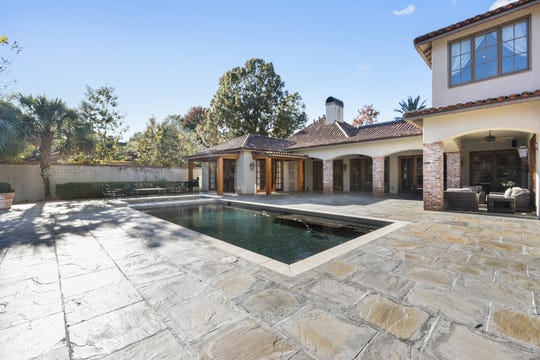 The pool area is large enough for any kind of entertaining.