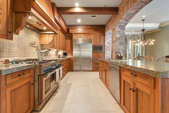 The kitchen is perfection for any cook.