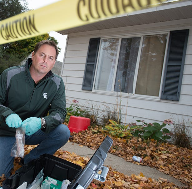 MSU forensic entomologist lends expertise to 'Smiley Face Killers' TV show