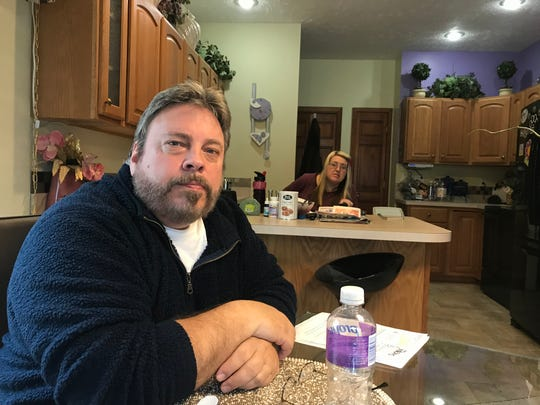 Joe and Shirley Thomspon in their Charlotte kitchen Jan. 3, 2019 talk about their frustration finding health coverage for Shirley, who has multiple sclerosis.