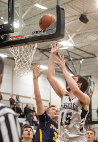 Dansville senior and Central Michigan signee Caleb Hodgson is the Aggies' all-time leading scorer and is among the top rebounders in MHSAA history.