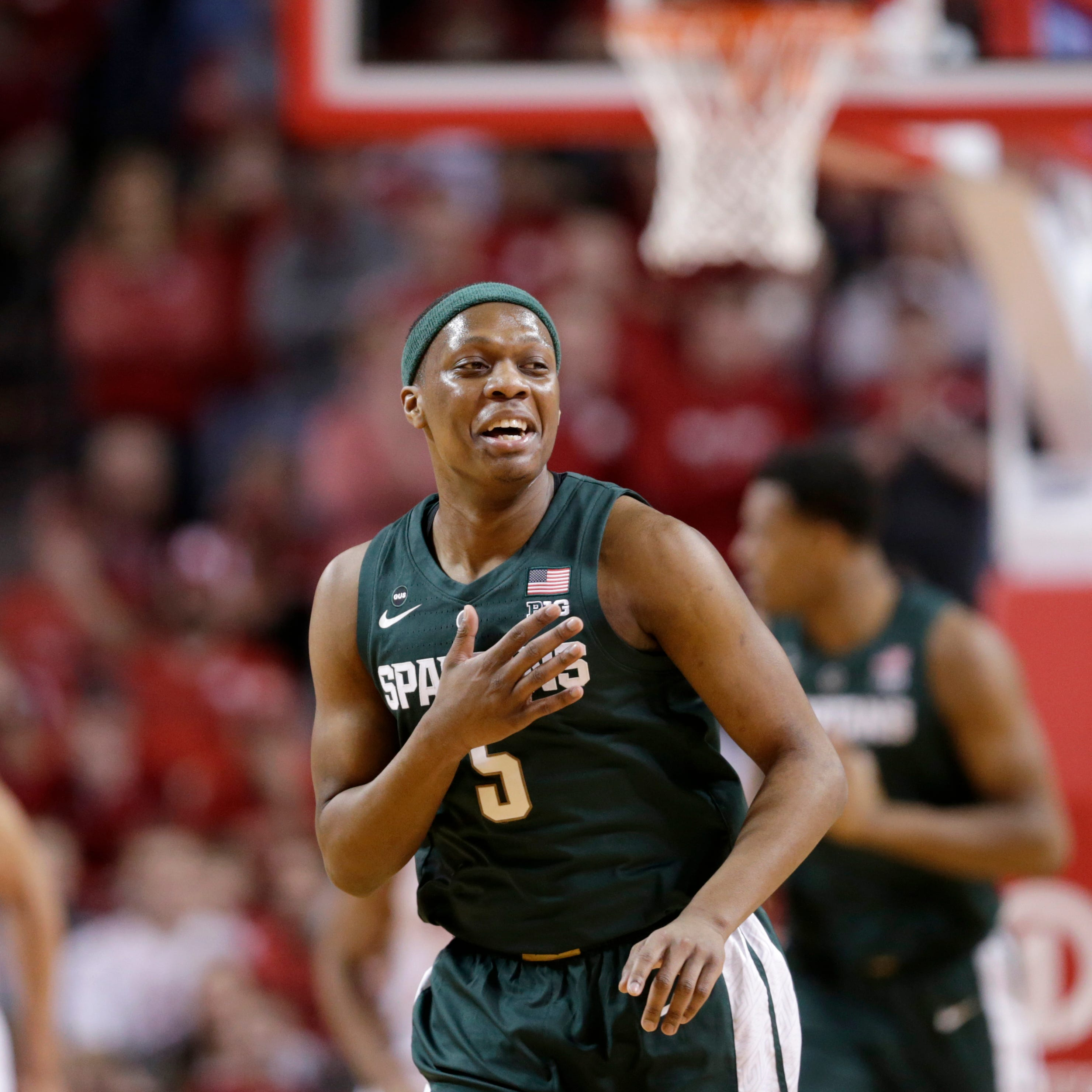 Michigan State's Cassius Winston hits high notes in win at Nebraska