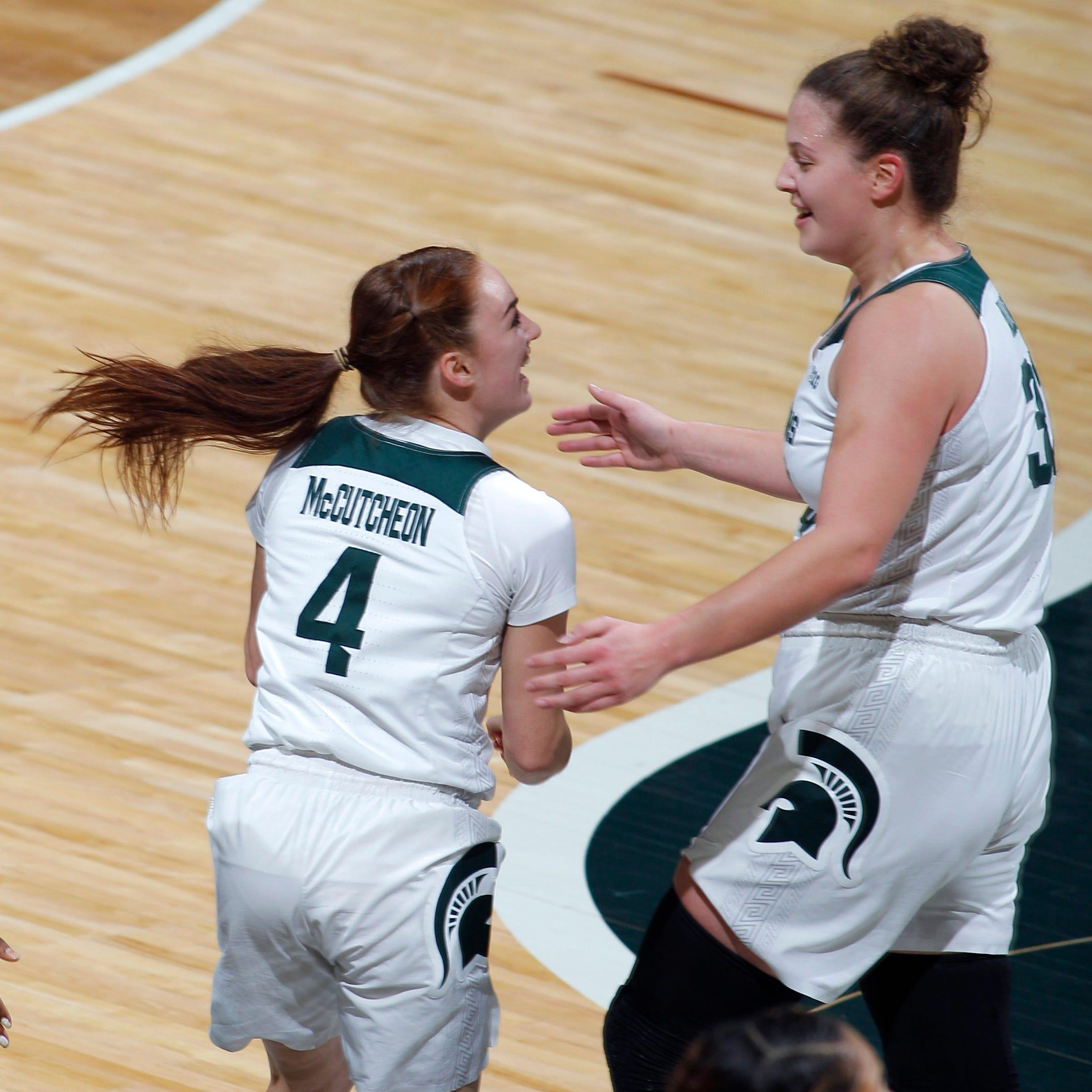 MSU women's basketball stays perfect at home, knocks off No. 9-ranked Maryland