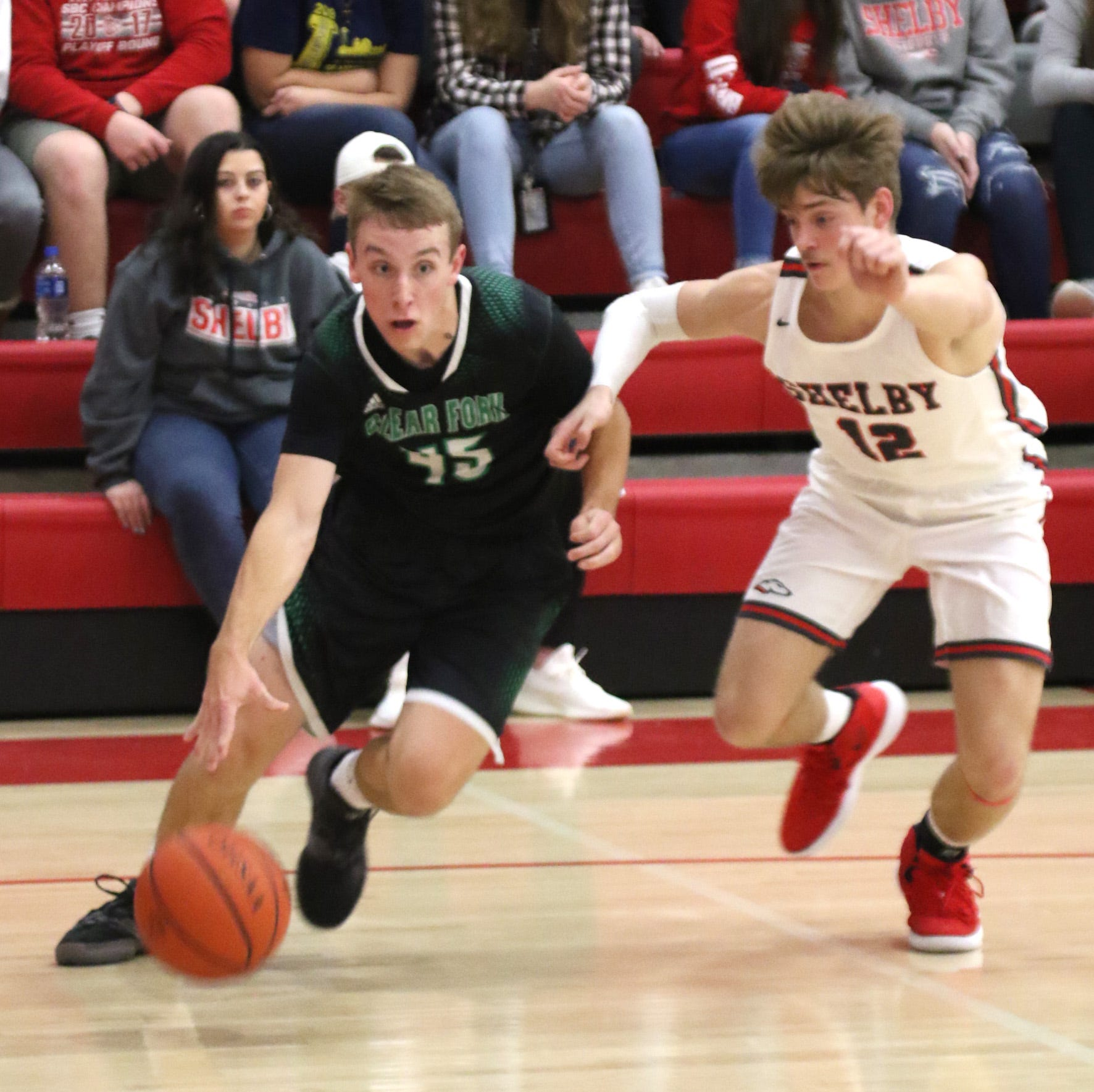 Clear Fork Colts battle way to victory over the Shelby Whippets