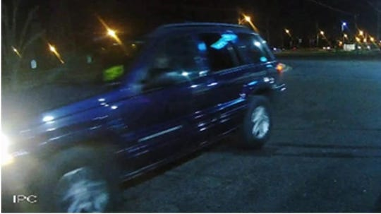 MPD say the person in this car is a person of interest following a homicide investigation.