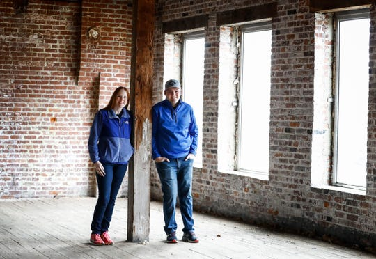 Meredith DeLeeuw and her husband, Peter DeLeeuw, plan to open Century Tree Cider at 484 Union Ave. in Downtown Memphis.