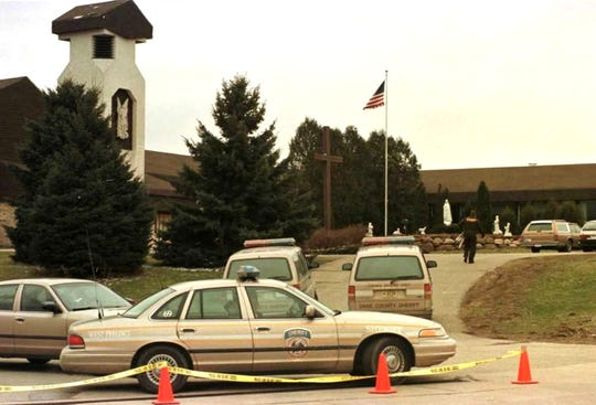 St. Michael School became a crime scene on the morning of March 4, 1998.