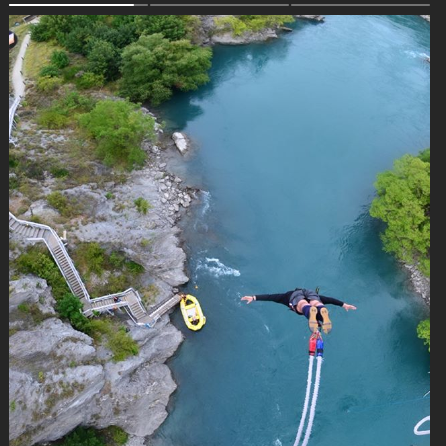Packers lineman David Bakhtiari is jumping off bridges in New Zealand during high-flying vacation