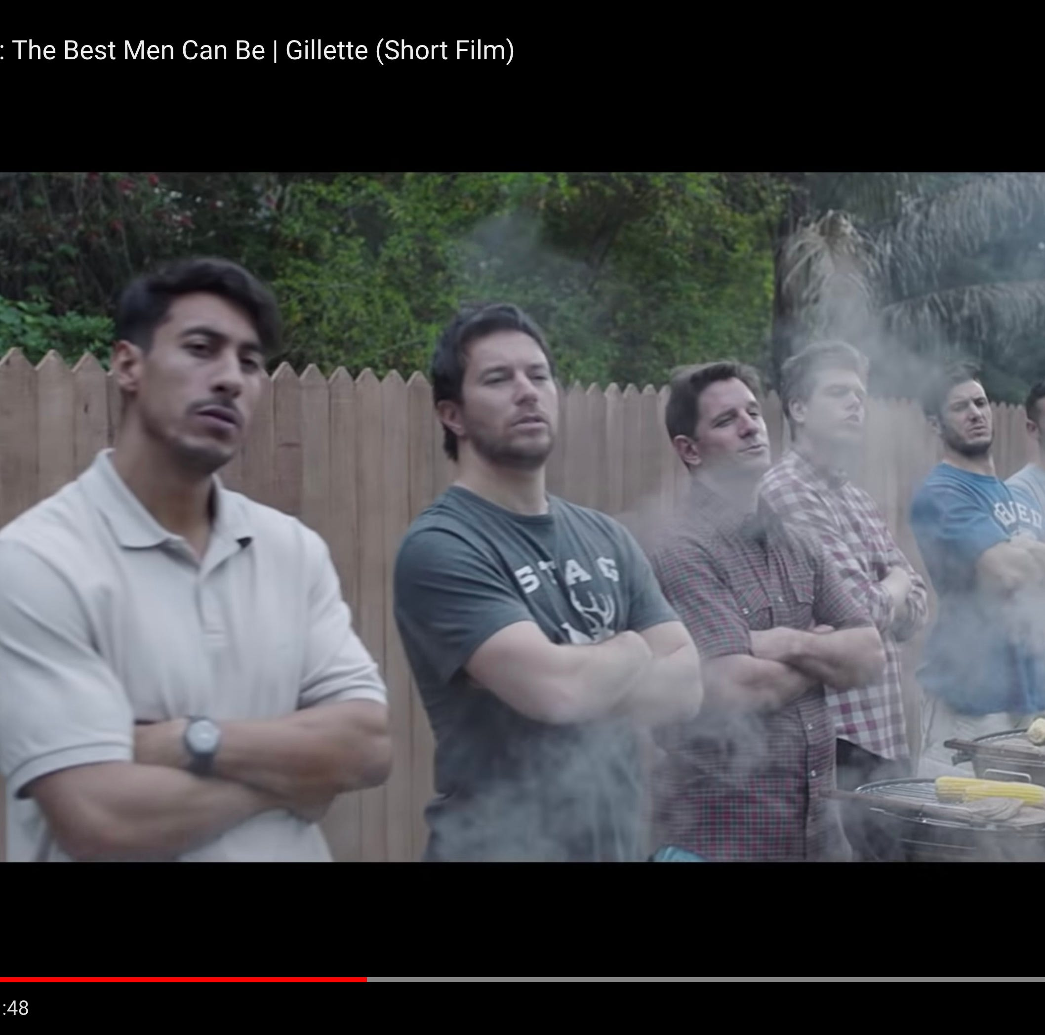 Stingl: No argument from me over the viral Gillette ad that says we men can be better