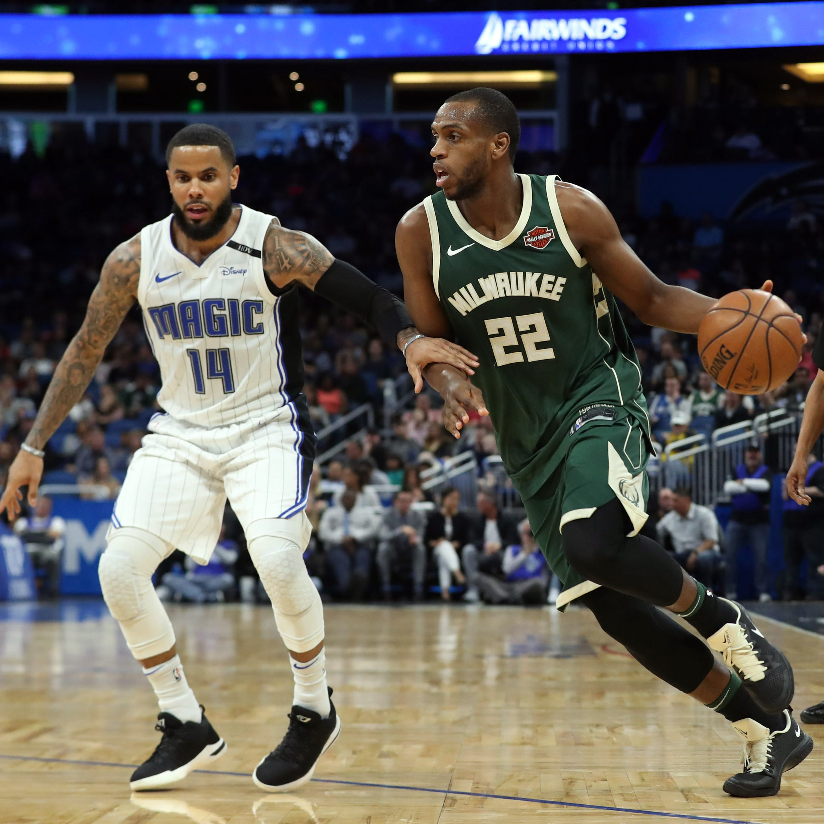 Amid tough road stretch, Bucks' expectations remain high
