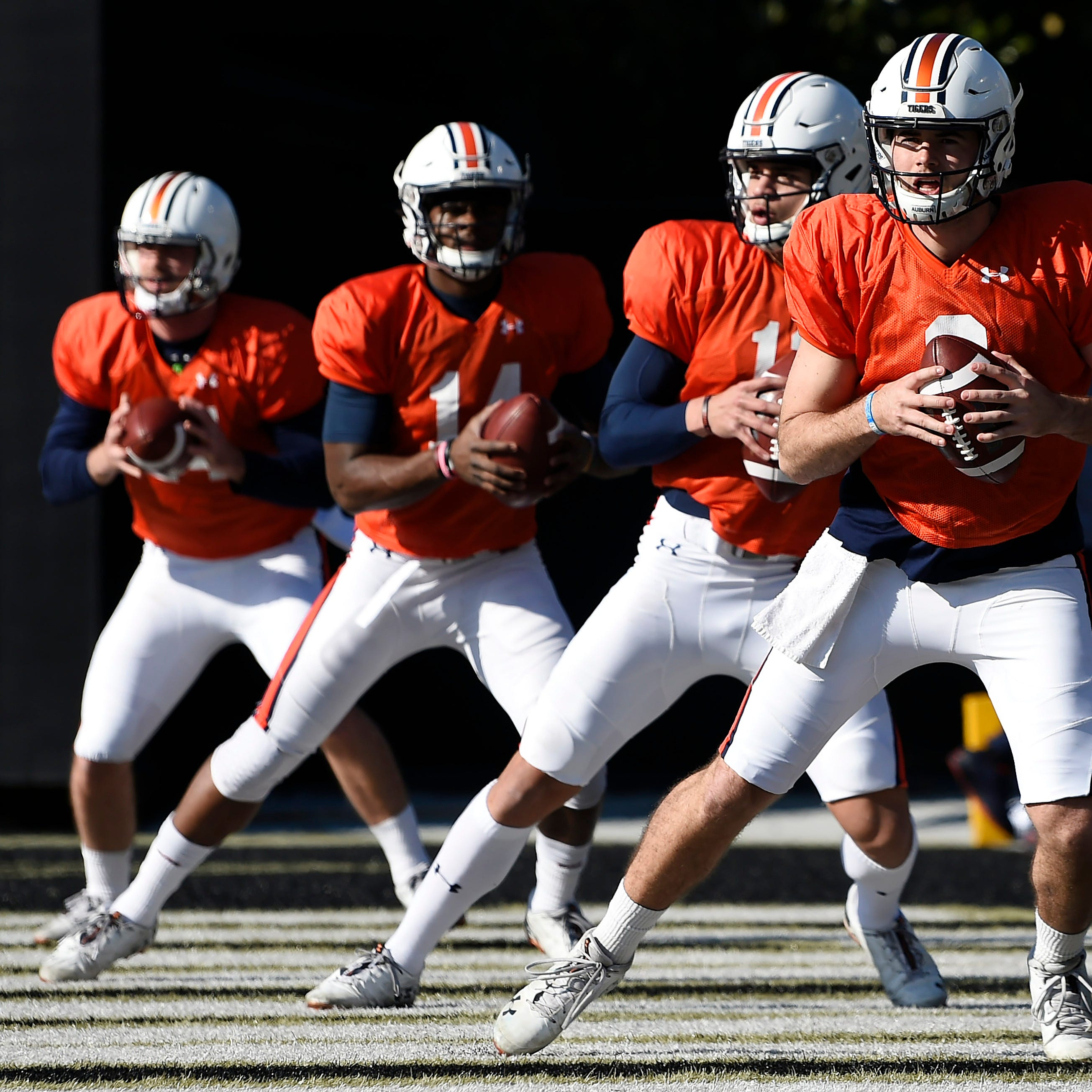 All signs point to Auburn starting a high school signee at quarterback in 2019