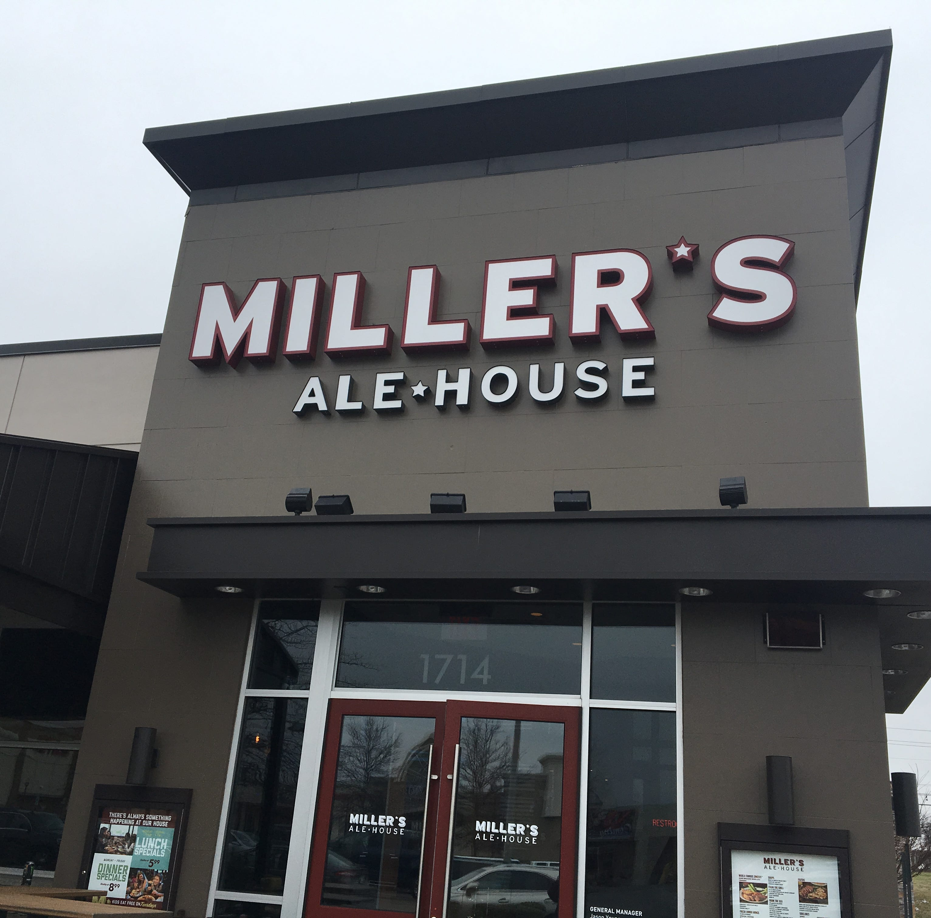 Miller's Ale House opens Monday at Stones River Town Centre