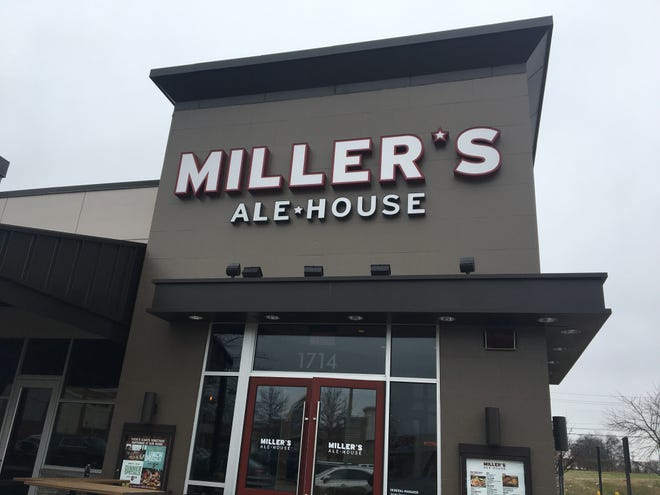 Miller's Ale House opens Jan. 21 at Stones River Mall in the space formerly occupied by TGI Fridays.