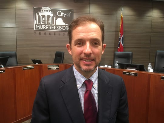 Mayor Shane McFarland