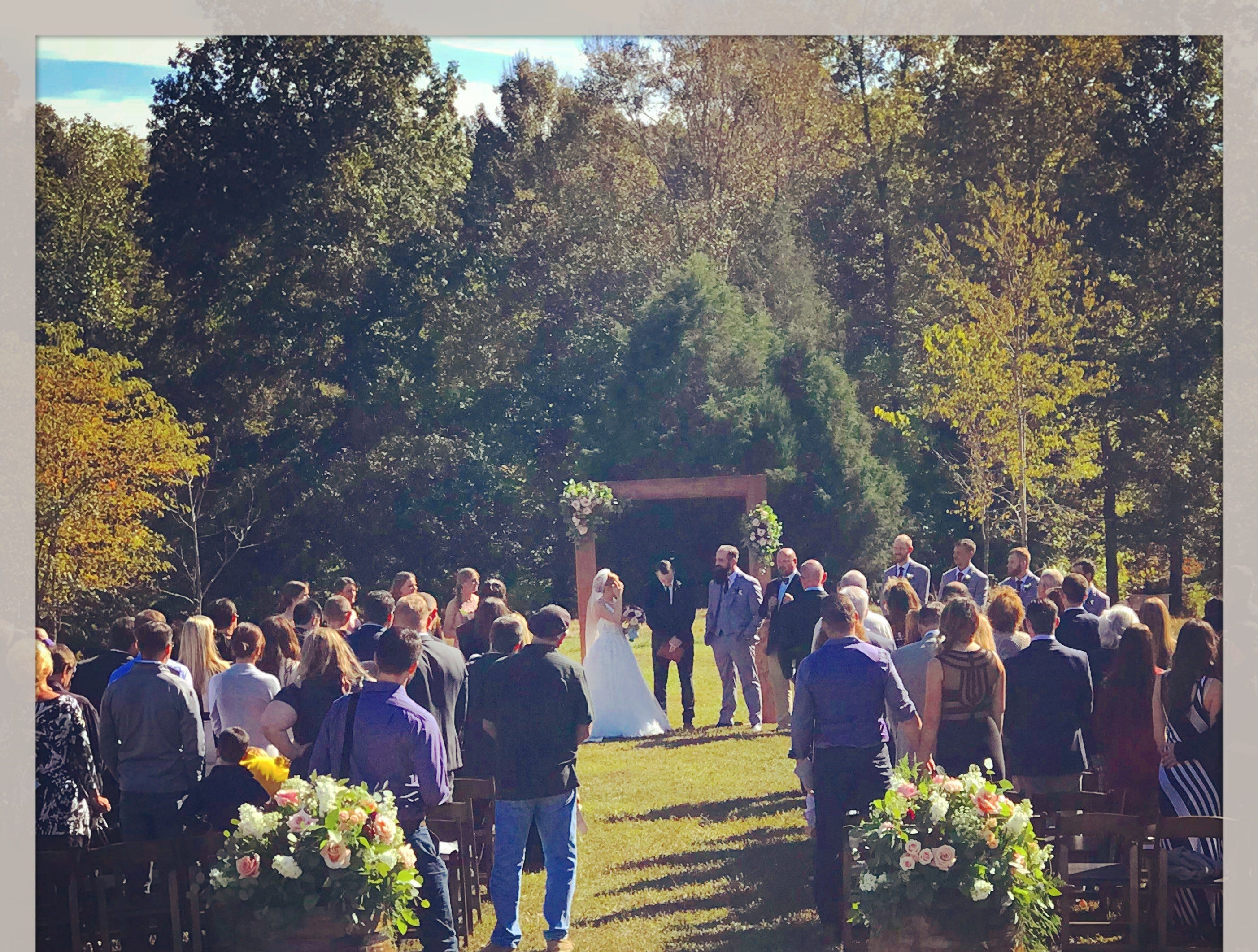 Ashland City Farms can be used for weddings, parties, corporate events and more.