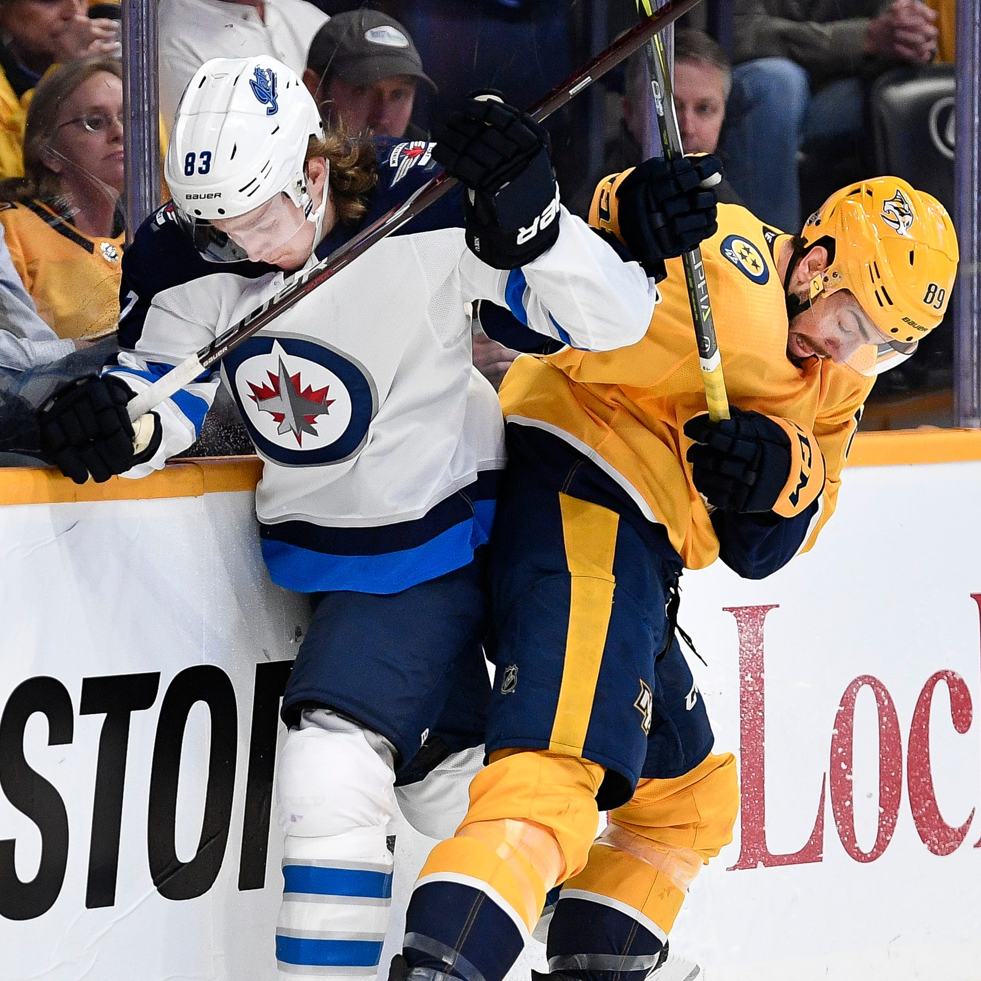 Thursday's recap: Jets 5, Predators 1
