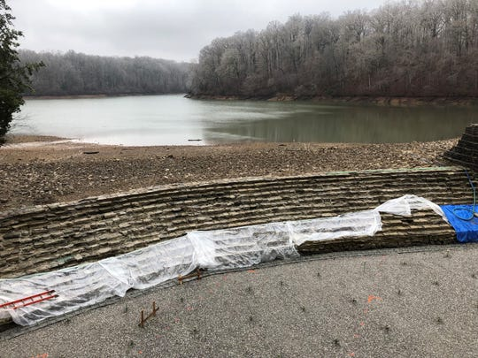 A large-scale repair of Lake Woodhaven at Montgomery Bell State Park in Dickson County is underway.