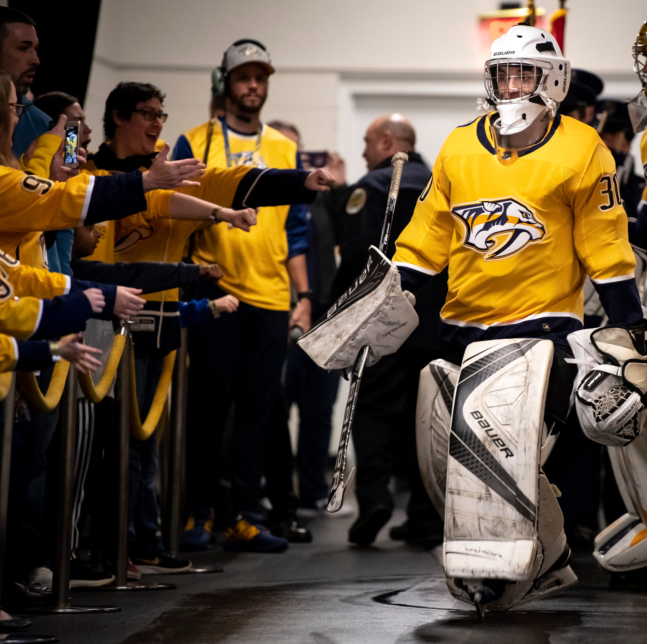 Predators, Pekka Rinne make 17-year-old's wish come true
