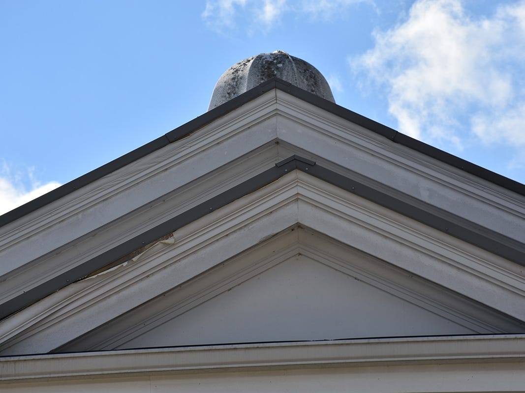 Repairs to fascia boards and other building exterior is scheduled to begin in February.