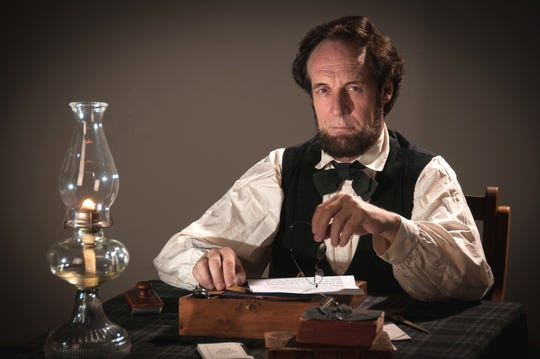 Dennis Boggs as Abraham Lincoln