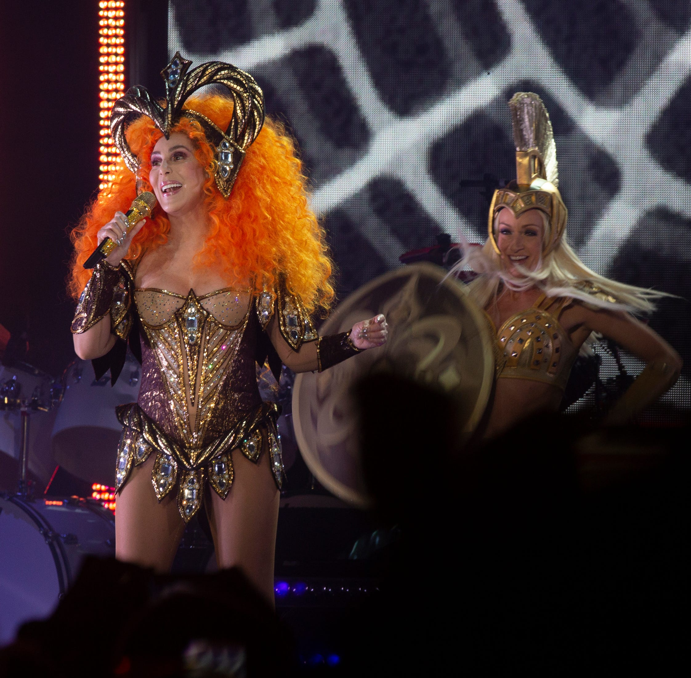 Cher delivers high-color show at Hertz Arena, making her audience easily 'Believe'