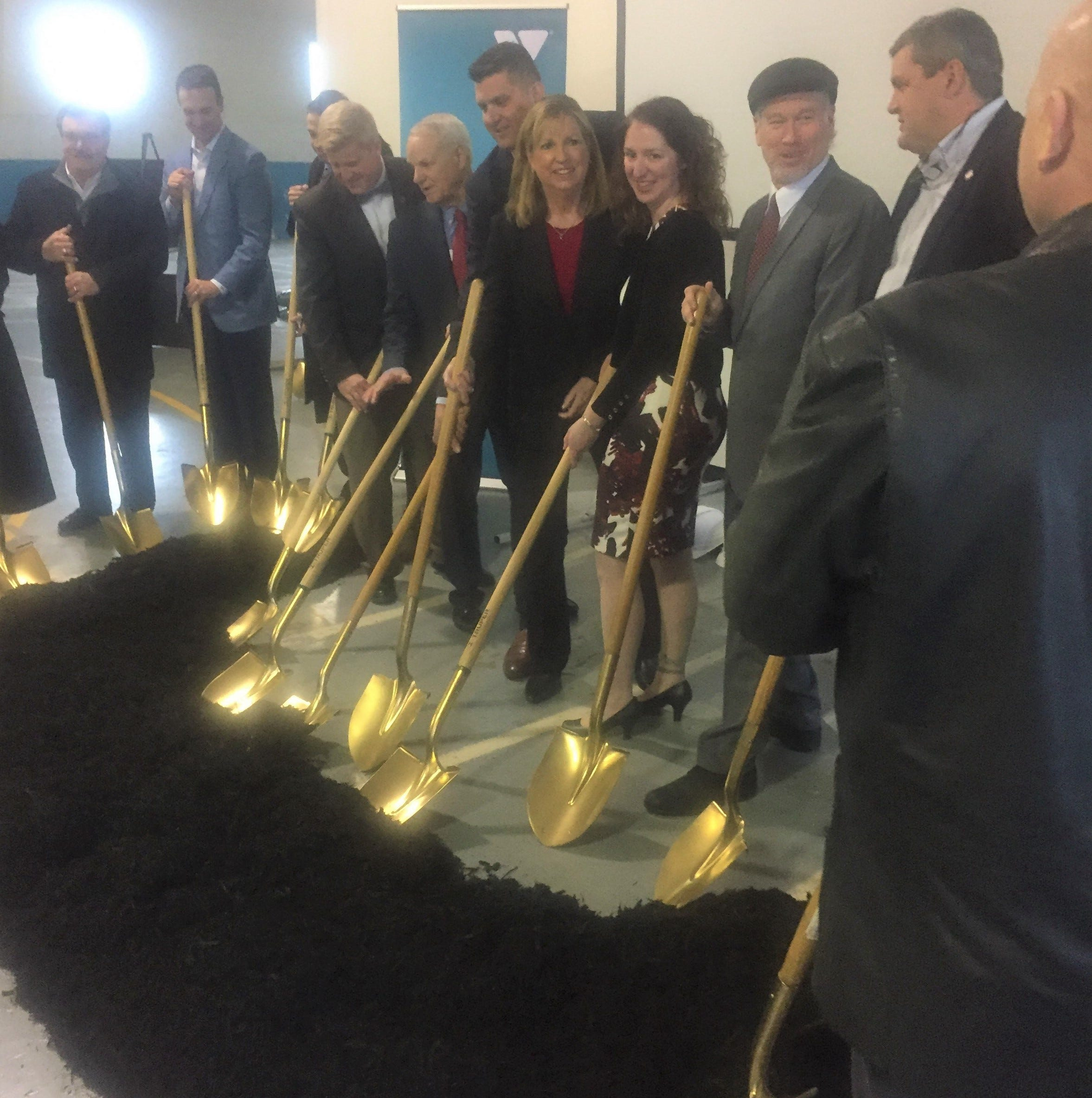 Western Y Branch in Pataskala breaks ground for major renovation
