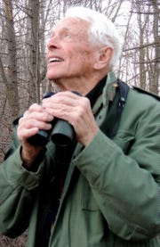 Stiles Thomas has been a bird-watcher for nearly nine decades.