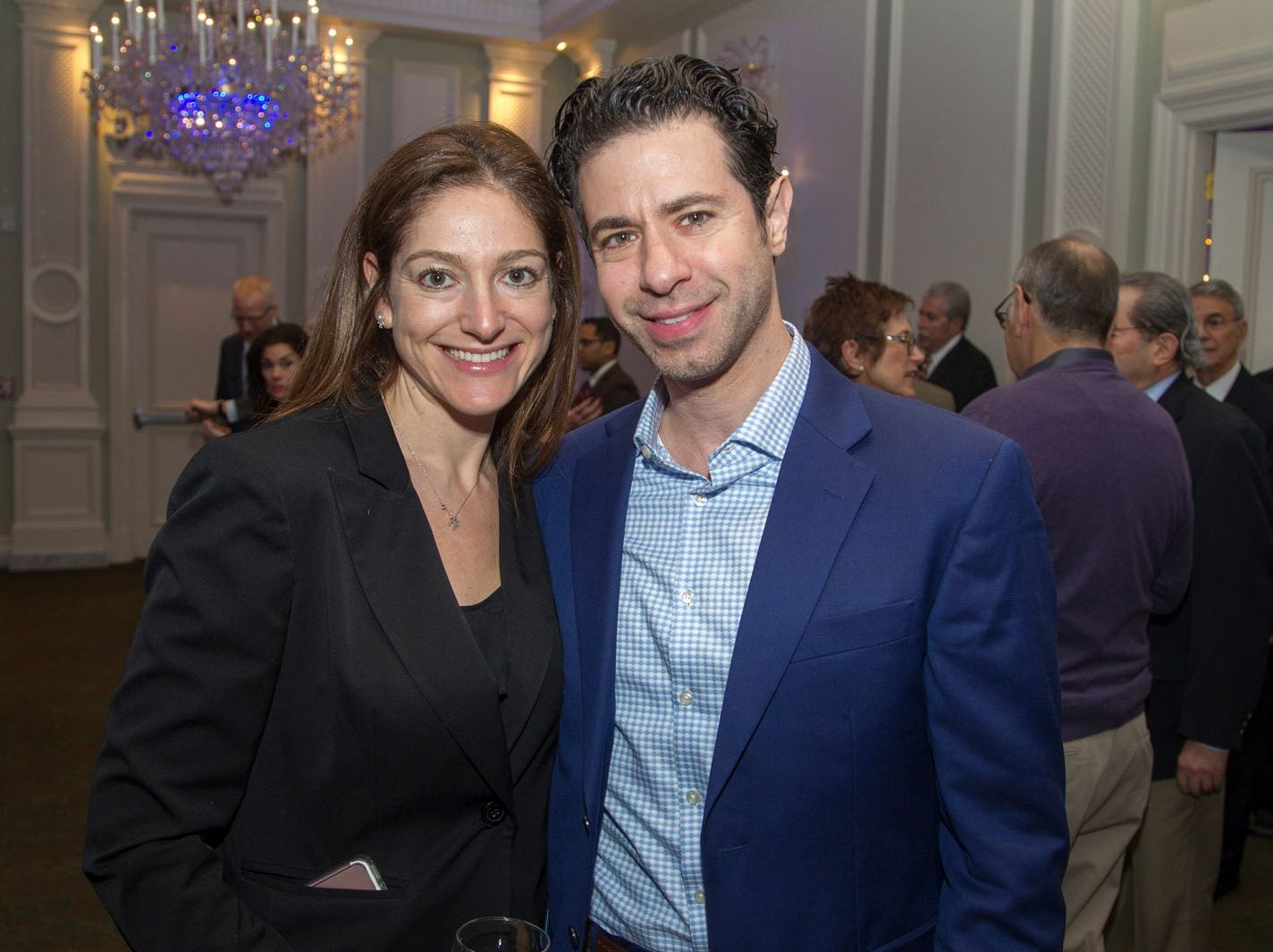 Dr. Rachel Bier, Dr. Roey Pasternak. Englewood Health held its annual Medical Staff Recognition Dinner at Rockliegh Country Club. 01/17/2019