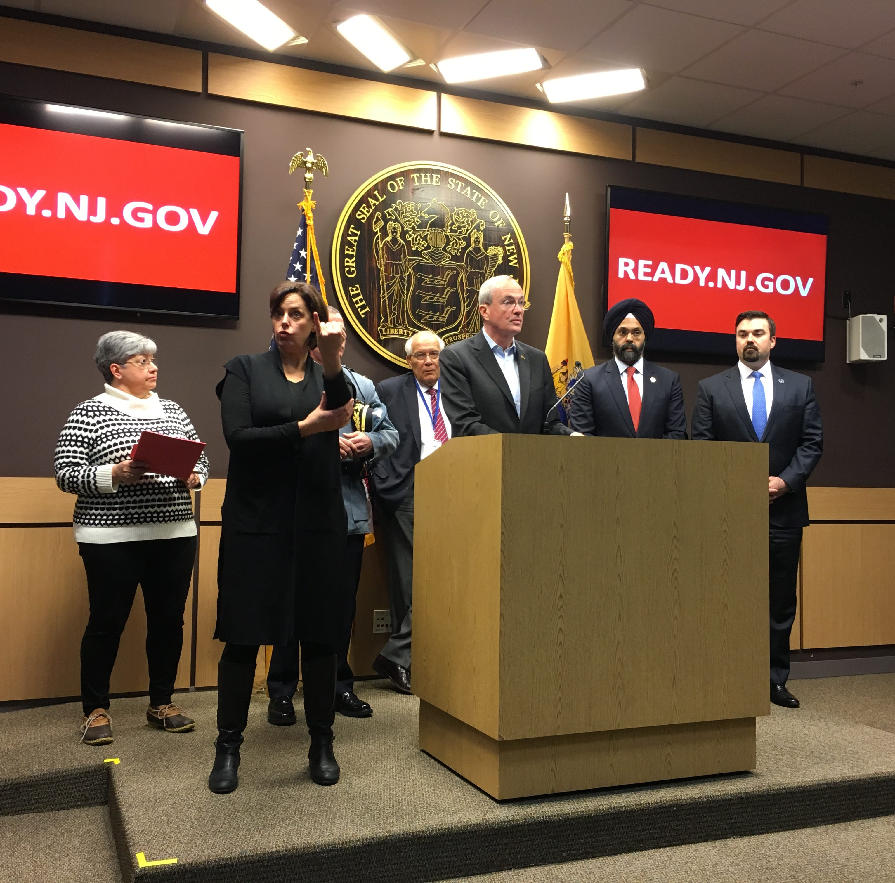 Phil Murphy declares NJ state of emergency, travel restrictions ahead of snowstorm