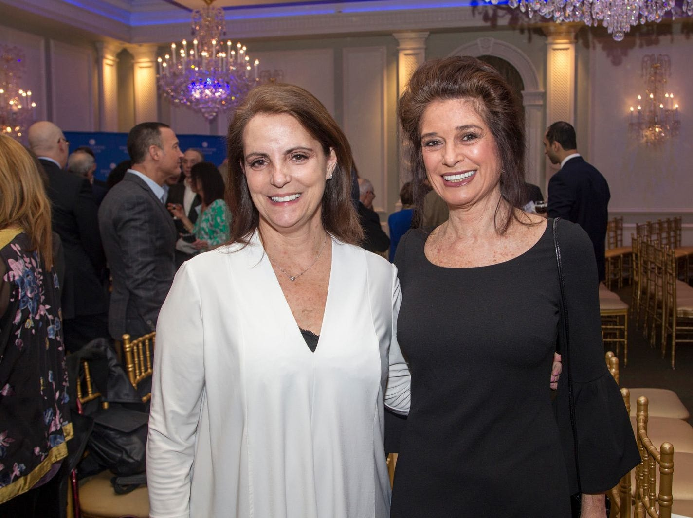 Dr. Diane Schwartz, Dr. Yvonne Callas. Englewood Health held its annual Medical Staff Recognition Dinner at Rockliegh Country Club. 01/17/2019