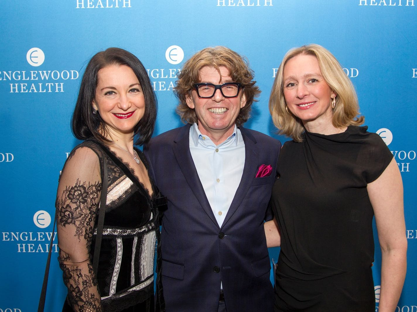 Dr. Irina Kaploubov, Dr. Leon Shapiro, Dr. Anna Serur. Englewood Health held its annual Medical Staff Recognition Dinner at Rockliegh Country Club. 01/17/2019