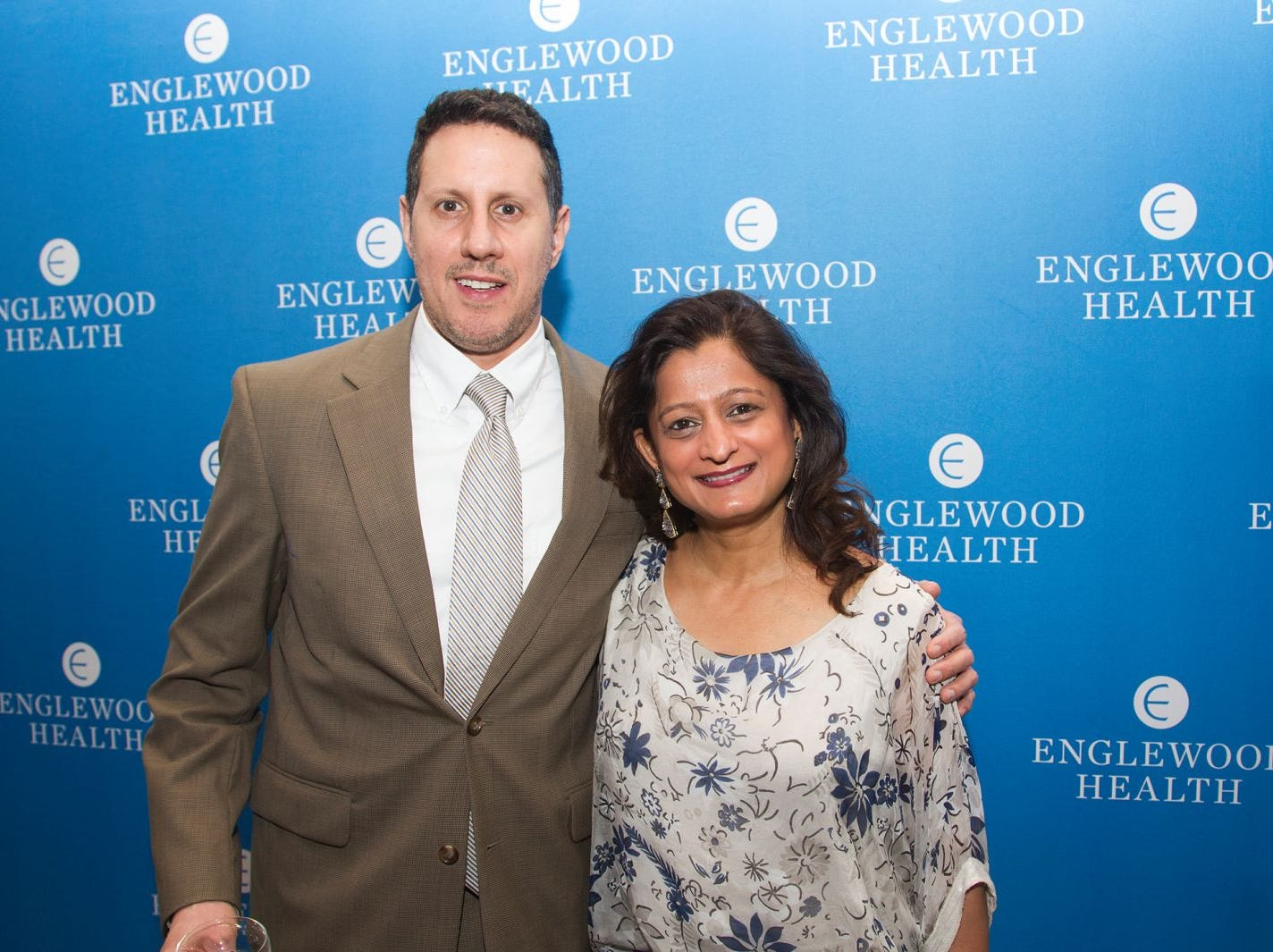 Dr. Philip Tasca., Dr. Binita Prajapati. Englewood Health held its annual Medical Staff Recognition Dinner at Rockliegh Country Club. 01/17/2019