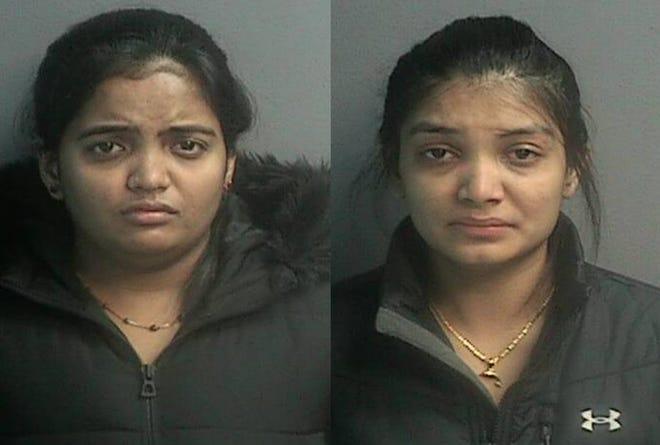 Palakben Patel, 26; and Rachanabe Patel, 26, both of Maywood.