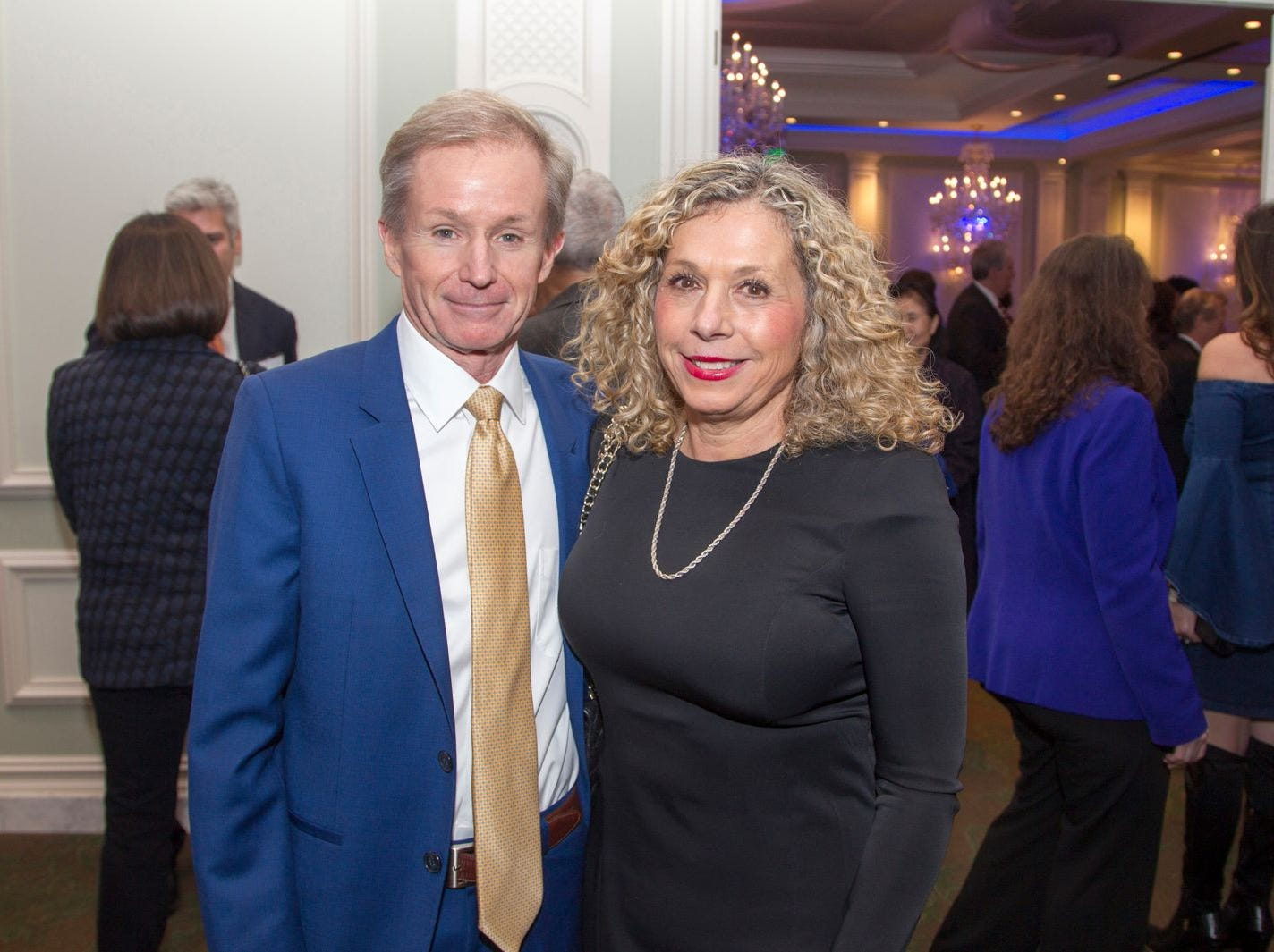 Dr. Stephen and Donna Brunnquell. Englewood Health held its annual Medical Staff Recognition Dinner at Rockliegh Country Club. 01/17/2019