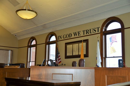 Luna County Courtroom