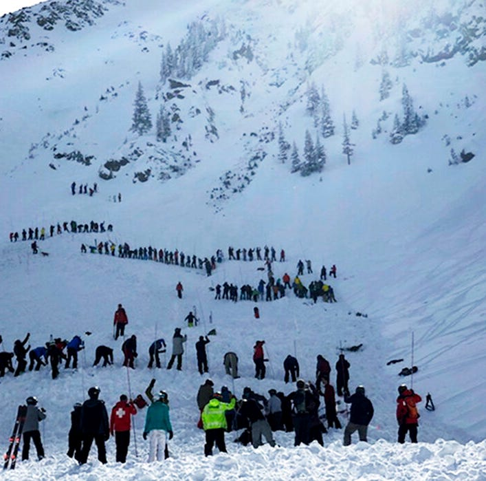 Avalanche kills man at Taos Ski Valley