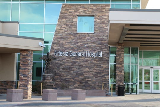 Artesia General Hospital was locked down twice Wednesday after receiving some questionable phone calls.