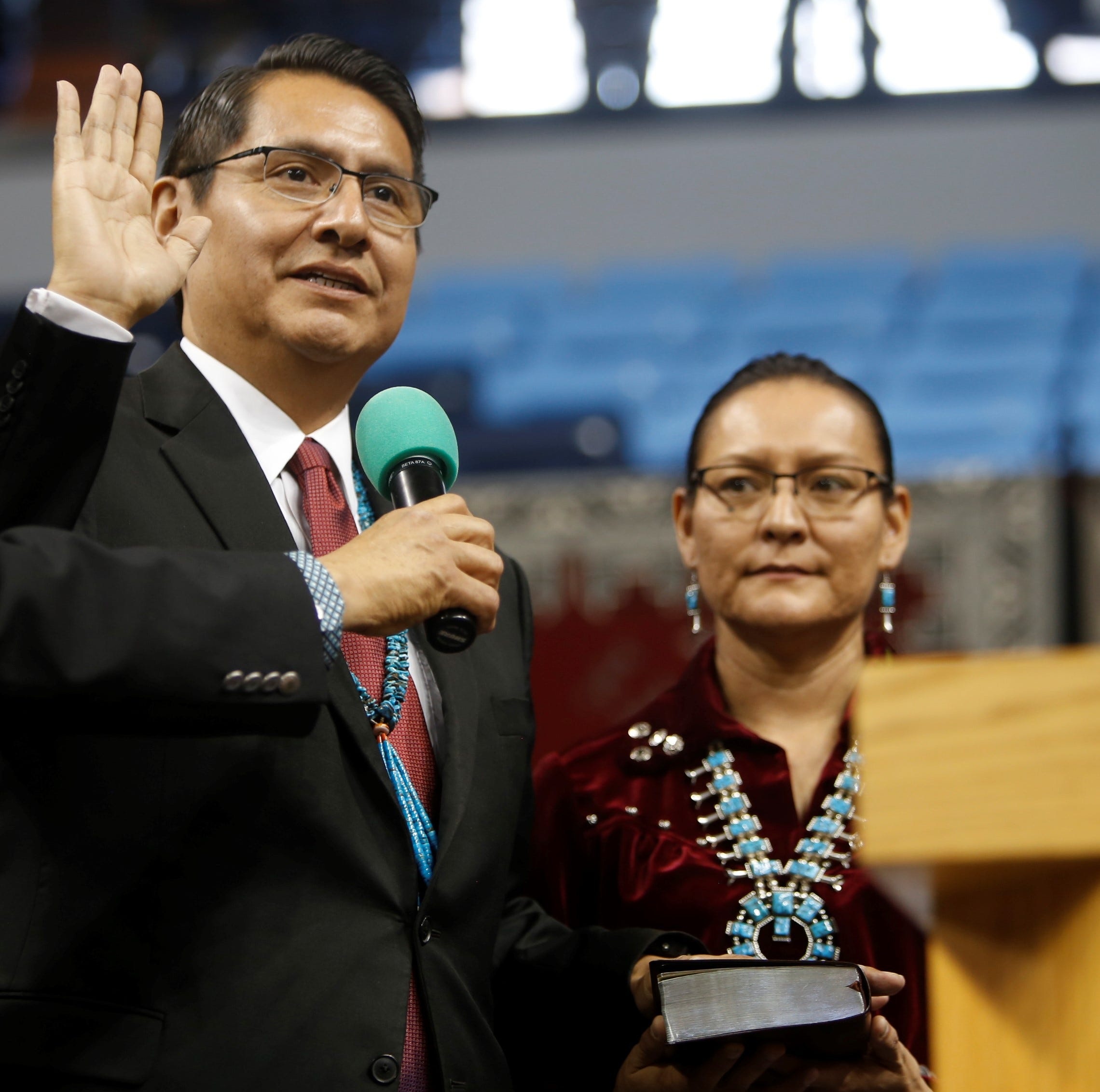 Navajo President Jonathan Nez names several cabinet appointees