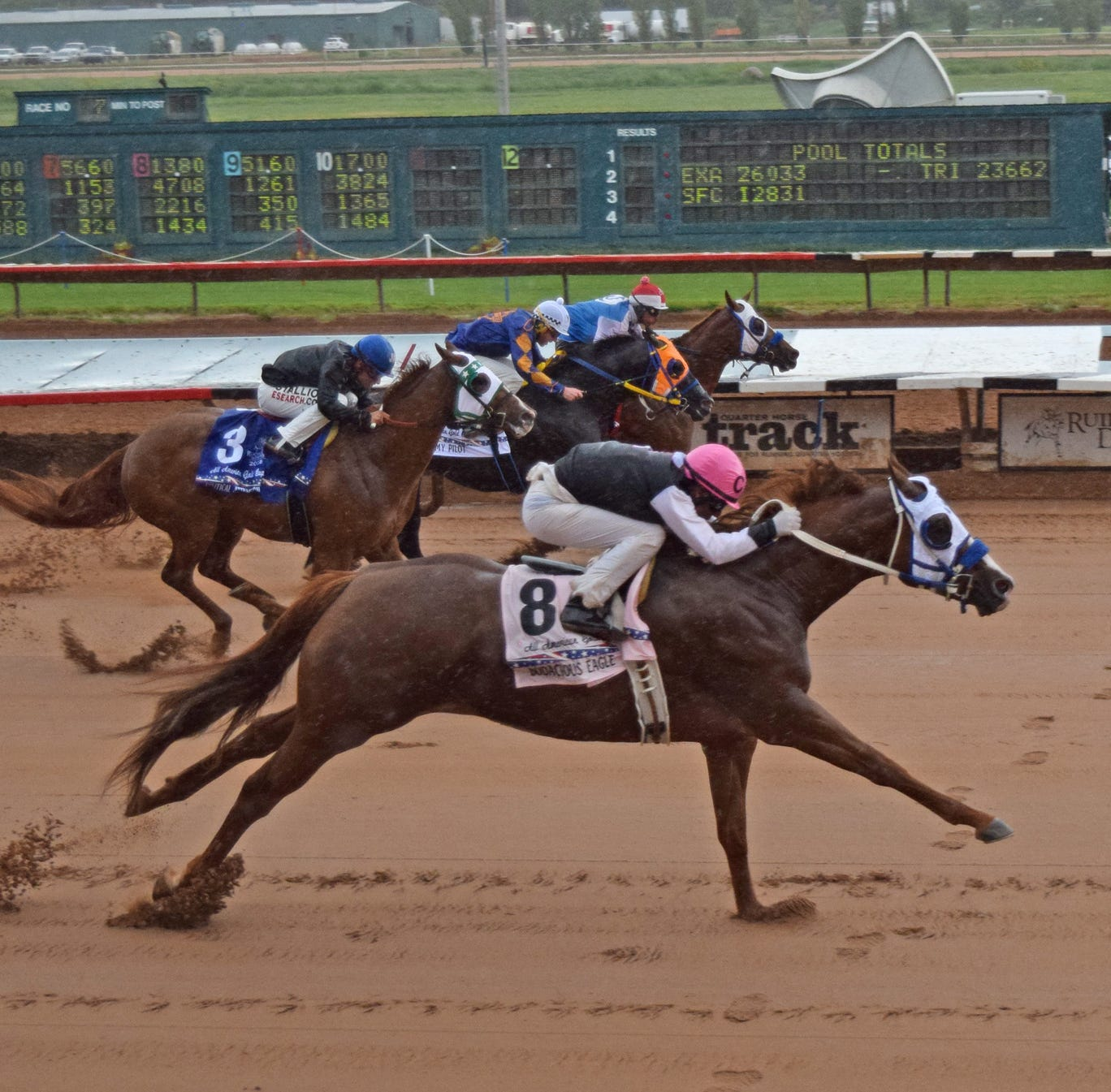 Ruidoso Downs race track hiring for the summer