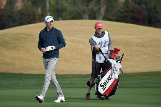 Martin Laird of Scotland walks on the fairway during the first round of the Desert Classic on January 17, 2019 in La Quinta, California.