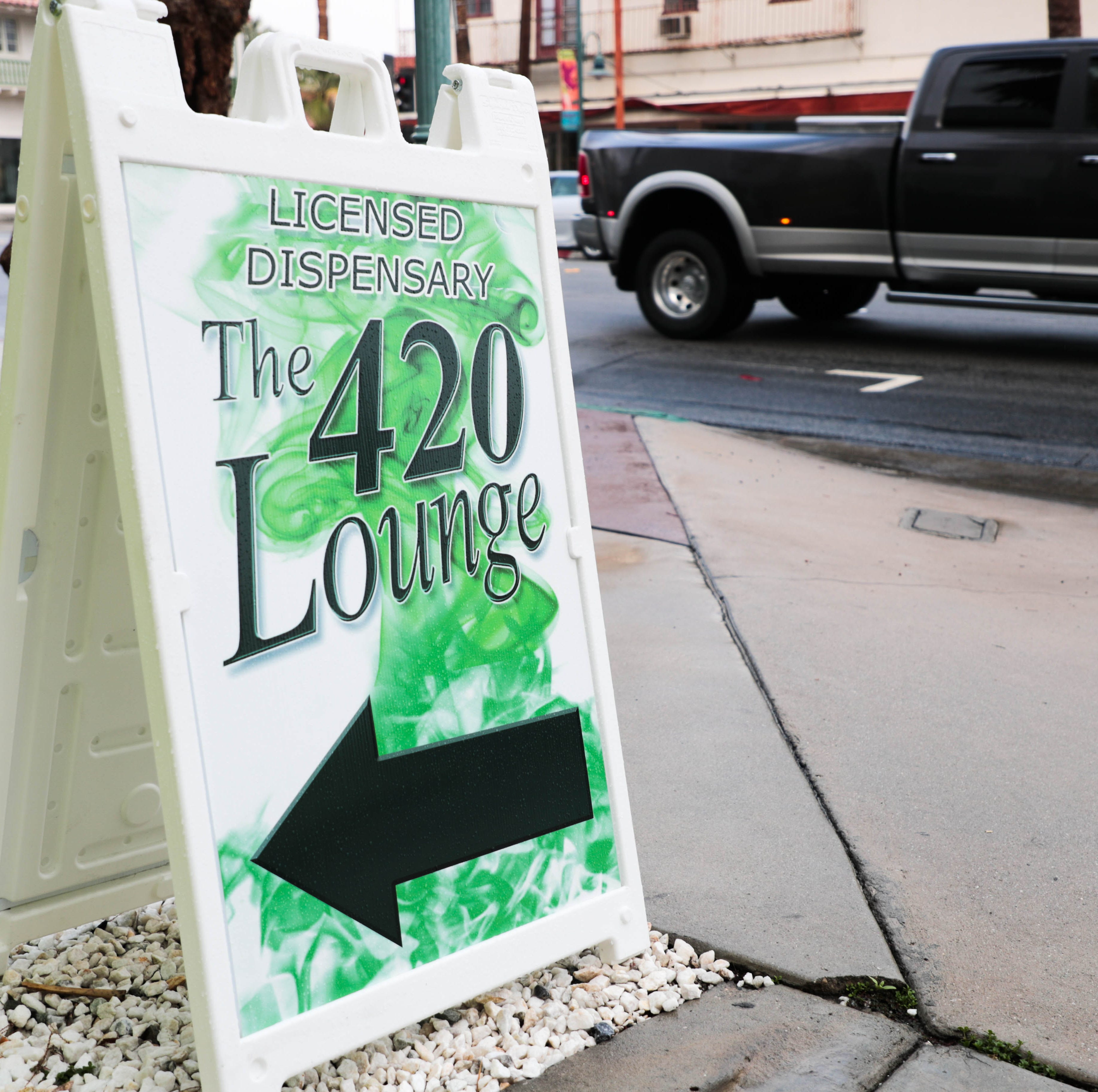 Weed lounge to open in former bank building in downtown Palm Springs. Here's a peek at how it will look