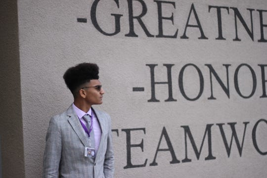 Eeron Wilson, a senior at Shadow Hills High School, started the African-American Acceptance of Cultures and Ethnicities, or the AAACE, club in January 2019.