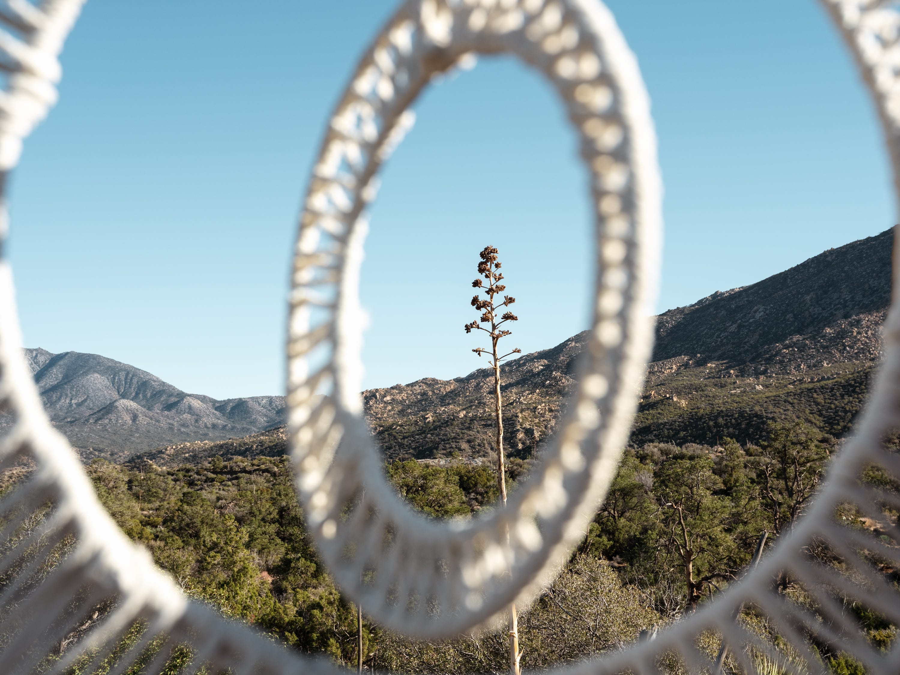 New Desert X experience: Fiber artists are weaving together a 'window to the sky'